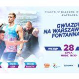 Gwiazdy na Warszawskich Fontannach 2019